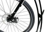Mibo GT Split vouwbare zwarte sportstep