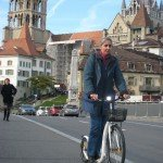 Kickbike City G4 witte stadstep_