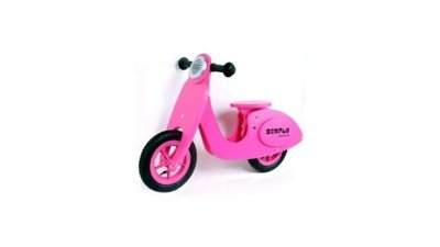 Simply for Kids 22029 Houten Loopscooter Roze