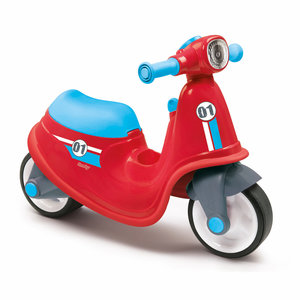 Smoby Loopscooter Rood/Blauw