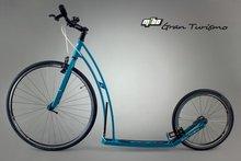 Mibo GT petrol blauwe sportstep